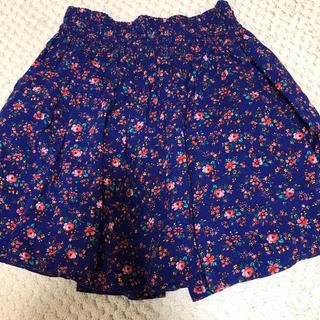 ローリーズファーム(LOWRYS FARM)のローリーズファーム 花柄 スカート(ミニスカート)