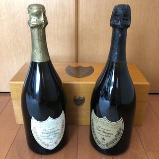 ドンペリニヨン(Dom Pérignon)の【ドンペリ 2本セット】ドンペリ ラベイ(ゴールド)&ヴィンテージ2006(白)(シャンパン/スパークリングワイン)