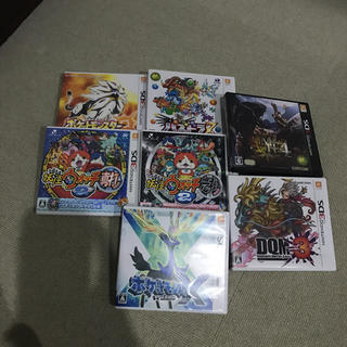 ニンテンドー3DS(ニンテンドー3DS)の3DS カセットまとめ売り!(家庭用ゲームソフト)