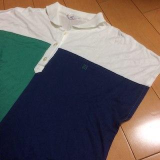 ジバンシィ(GIVENCHY)のアリエル様専用GIVENCHYグリーン✖︎ネイビーツートンポロ(ポロシャツ)