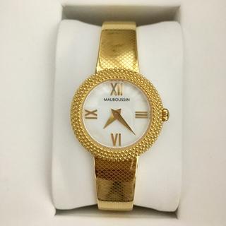 ショパール(Chopard)の♪【専用お品物です】モーブッサンバングル腕時計VERY掲載YG色数回使用♪(腕時計)