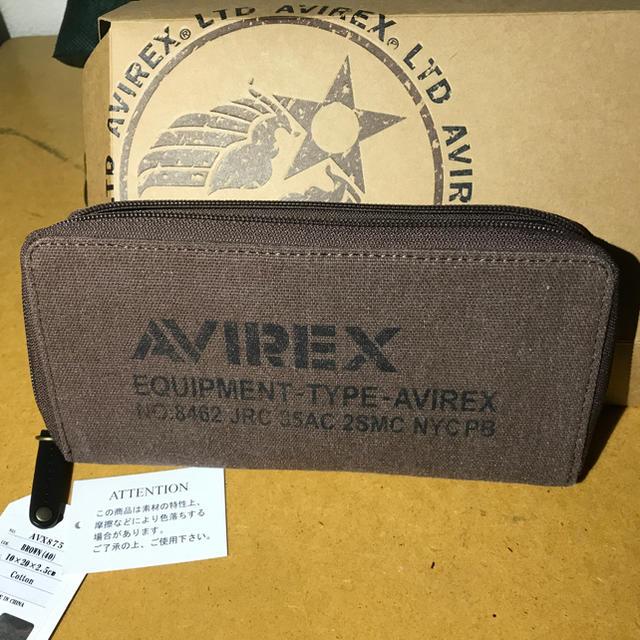 74a87a3d3044 AVIREX(アヴィレックス)のavirex avx 財布 限定品 服 メンズのファッション小物(