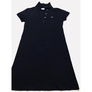 ラコステ(LACOSTE)の美品‼️即完売‼️ラコステ ポロシャツワンピース 半袖 ワンピース スカート‼️(ひざ丈ワンピース)