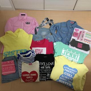 ジェニィ(JENNI)のJENNI まとめ売り シスタージェニー 画像3Tシャツ2枚レギンス追加(ワンピース)
