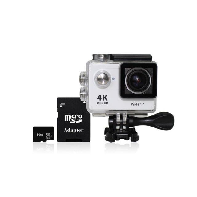 アクションカメラ 防水 Gopro セット 広角170°防水 スマホ/家電/カメラのカメラ(ビデオカメラ)の商品写真