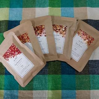 TEAtrico ティートリコ 10gサイズ色々5点セット 食べれる紅茶(茶)