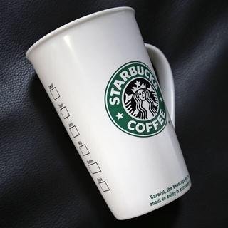 スターバックスコーヒー(Starbucks Coffee)のスターバックス★旧ロゴ TO GO CUP マグカップ グランデサイズ★16fl(食器)