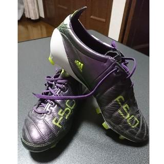 アディダス(adidas)のadidas adizero f50 TRX FG LEA 24.5cm (シューズ)