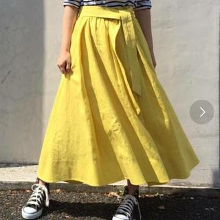ミラオーウェン(Mila Owen)のミラオーウェン イエローマキシスカート(ロングスカート)