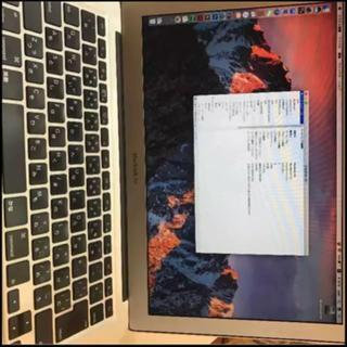 マック(Mac (Apple))のMacBook Air ノートパソコン(ノートPC)
