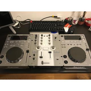 パイオニア(Pioneer)のCDJ-350×2 DJM-250(CDJ)
