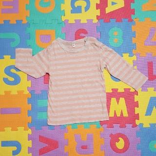 ムジルシリョウヒン(MUJI (無印良品))の無印 長袖Tシャツ 90cm(Tシャツ/カットソー)