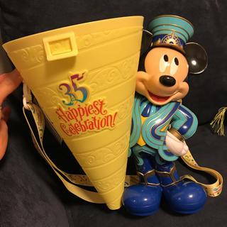 ディズニー(Disney)の4/10発売 ディズニーリゾート35周年 ポップコーンバケツ(キャラクターグッズ)