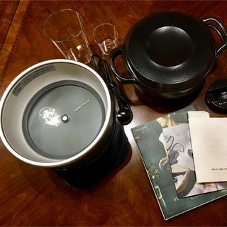 バーミキュラ(Vermicular)のバーミキュラ ライスポット 5合 シルバー(炊飯器)