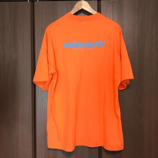 本物 SS18 VETEMENTS T-shirt unisex(Tシャツ/カットソー(半袖/袖なし))
