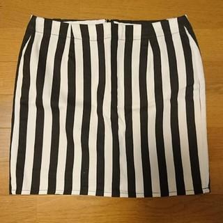 ジーユー(GU)のストライプ スカート(ミニスカート)