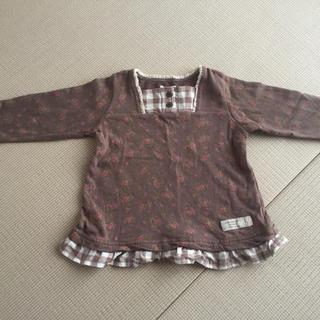 ビケット(Biquette)の値下げ 90センチ 長袖 女の子 ビケット  薄手のカットソー(Tシャツ/カットソー)