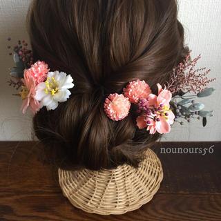 ヘッドドレス(さくら色の花)(ヘッドドレス/ドレス)