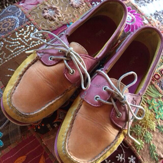 ティンバーランド(Timberland)のティンバ USED 古着 ローファー(ローファー/革靴)