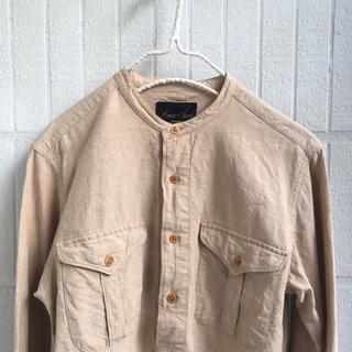 ネストローブ(nest Robe)の麻 ミリタリーシャツ(シャツ)