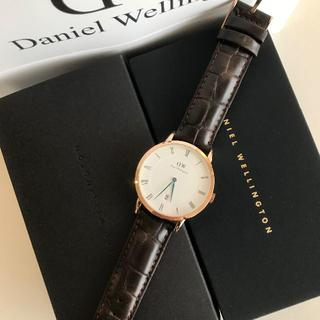 ダニエルウェリントン(Daniel Wellington)のDW CLASSIC BLACK 40MM YORK メンズ(腕時計(アナログ))