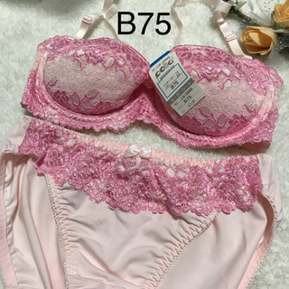 【新品】ブラショーツセット B75 (ブラ&ショーツセット)