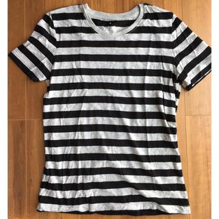 ムジルシリョウヒン(MUJI (無印良品))の専用です!! MUJI ボーダーTシャツ M(Tシャツ(半袖/袖なし))