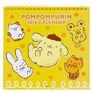 ポムポムプリン(ポムポムプリン)のポムポムプリン ウォールカレンダーM 2018(カレンダー/スケジュール)