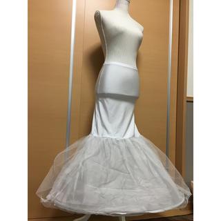 de59828ebde4a ウェディング マーメイド パニエ(ウェディングドレス)