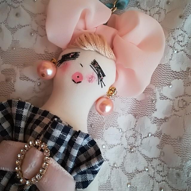 ギンガムドール❤️ ハンドメイドのぬいぐるみ/人形(人形)の商品写真