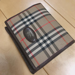 バーバリー(BURBERRY)のバーバリーBurberry がま口財布(折り財布)