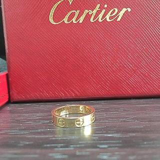 カルティエ(Cartier)のmymin1020様専用 ラブリング 4号(リング(指輪))