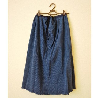 ネストローブ(nest Robe)のnest Robe(ネストローブ)  縦縞柄スカート(ひざ丈スカート)