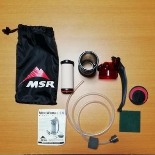 エムエスアール(MSR)のミニワークスEX(調理器具)