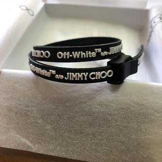 オフホワイト(OFF-WHITE)の黒 JIMMY CHOO × off-white ブレスレット(ブレスレット)