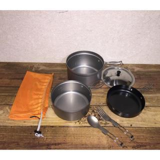 ユニフレーム(UNIFLAME)のドロちゃん様専用 ユニフレーム ごはんクッカープラス (調理器具)