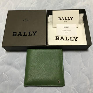 バリー(Bally)のバリー コイン入れ付き 二つ折り財布 [美品](折り財布)