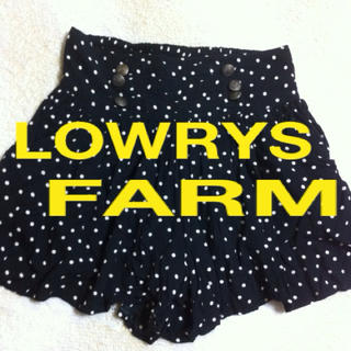 ローリーズファーム(LOWRYS FARM)の美品✨ローリーズファーム❤超値下げ⤵(ミニスカート)