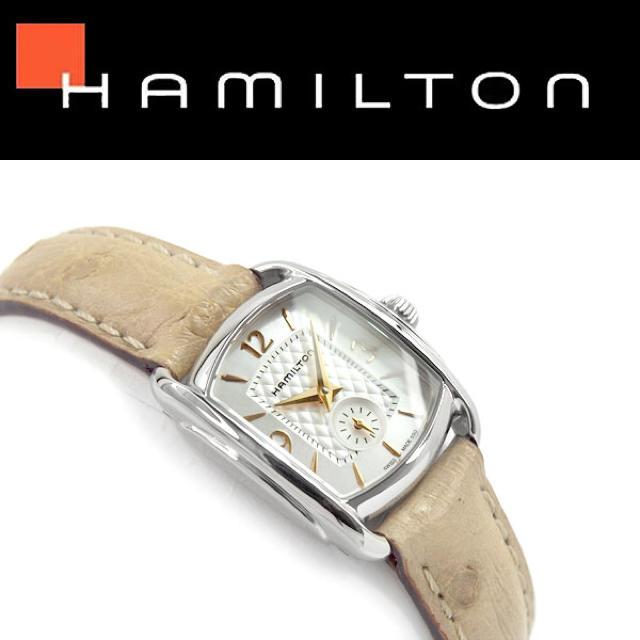 cd432bf0de Hamilton(ハミルトン)の新品 HAMILTON レディース腕時計 H12351855 上品 おすすめ レディースのファッション小物