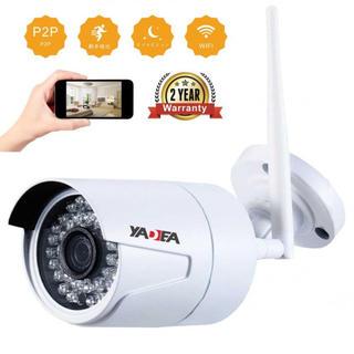 防犯WIFI IP 無線カメラ 720P HD屋内/屋外CCTVカメラ IR暗視(その他)