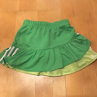 アディダス(adidas)のadidas  サイズ6 スカッツ グリーン・ピンク/プーマスカッツ(スカート)