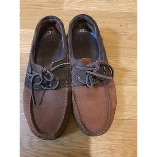 イルビゾンテ(IL BISONTE)のイルビゾンテ デッキシューズ(ローファー/革靴)