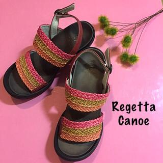 リゲッタカヌー(Regetta Canoe)のサンダル☆ワンピースセットおまとめ品(サンダル)