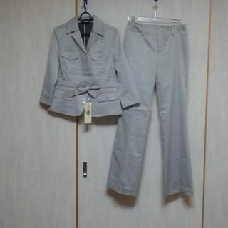ミッシェルクラン(MICHEL KLEIN)の新品✨ミッシェルクラン*八分袖パンツスーツ(38)(スーツ)