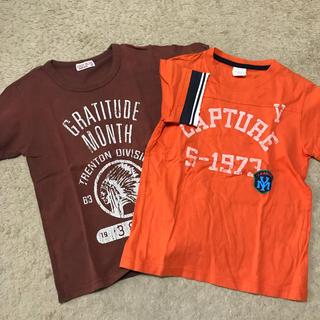 イッカ(ikka)のキッズ 140 Tシャツ2枚セット(Tシャツ/カットソー)