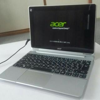 エイサー(Acer)のWin10 Acer 2in1ノートパソコン タブレット 10.1インチ(ノートPC)