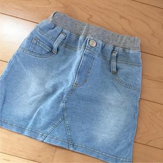ジーユー(GU)の[GU]110 デニムスカート(スカート)