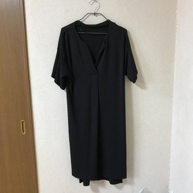 dfb50a449e326 GU - GU 半袖ロングTシャツ ワンピースの通販 by Ry you s shop ...