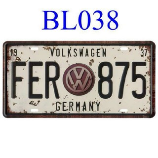 フォルクスワーゲン(Volkswagen)のワーゲン ナンバープレート(車外アクセサリ)