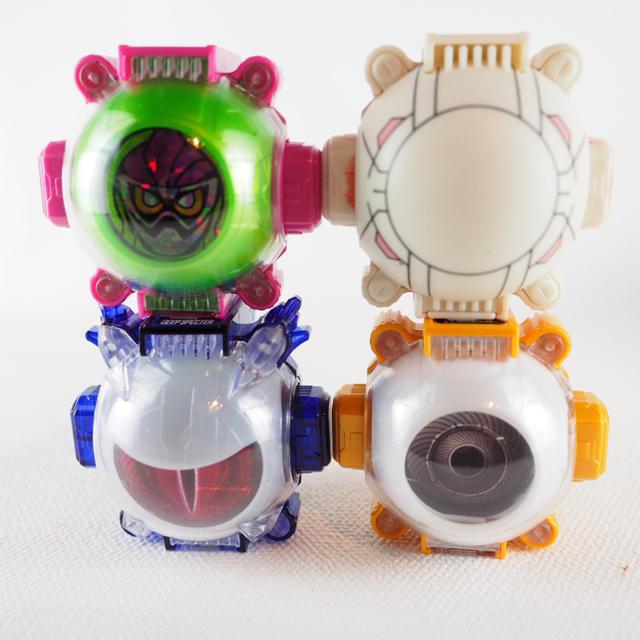 BANDAI(バンダイ)の選べるゴーストアイコン3個セット エンタメ/ホビーのおもちゃ/ぬいぐるみ(キャラクターグッズ)の商品写真